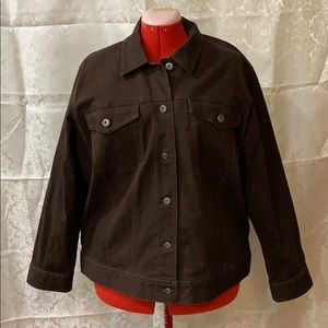 Brown jean jacket